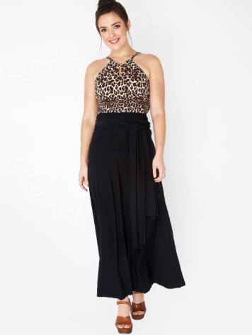 bali worn with maxi skirt as top